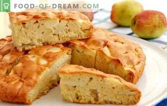 Шарлот в пещта: стъпка по стъпка рецептата за самия ябълков пай! Готвене на класически и други видове шарлоти във фурната