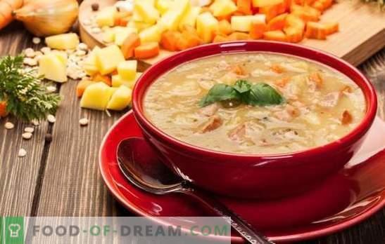 Грешки при приготвянето на супа от грах, всички тайни и тънкости