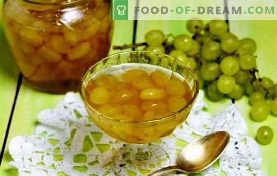 Напълнете килера - гроздово сладко с ями. Обогатете вашите рецепти с грозде и конфитюр