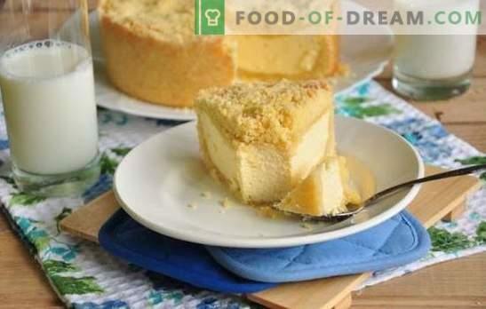 Кралски чийзкейк (рецепта стъпка по стъпка) - изискан десерт извара. Кралски чийзкейк в бавен котлон: стъпка по стъпка рецепта