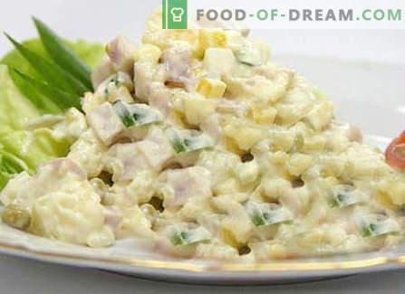 Zimska solata - najboljši recepti. Kako pravilno in okusno kuhati Zimska solata.