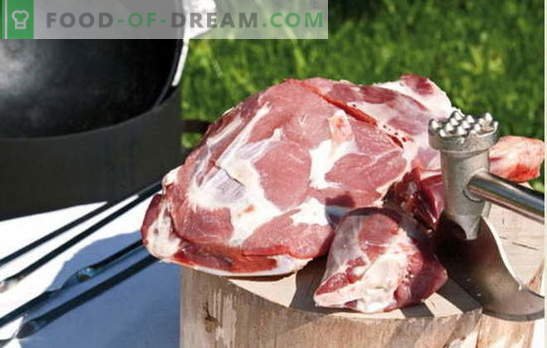 Най-добрите рецепти за готвене на ароматно месо в котел, тайните на добавяне на подправки. Месо в котел: свинско, агнешко, агнешко