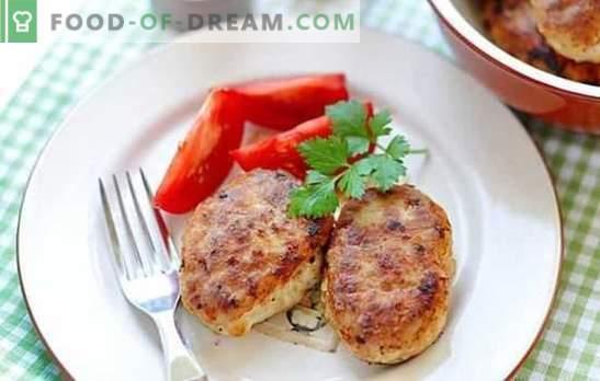 Свинско и пилешки котлети могат да се приготвят на печката и в тигана! Рецепти за сочни и червени свински и пилешки котлети