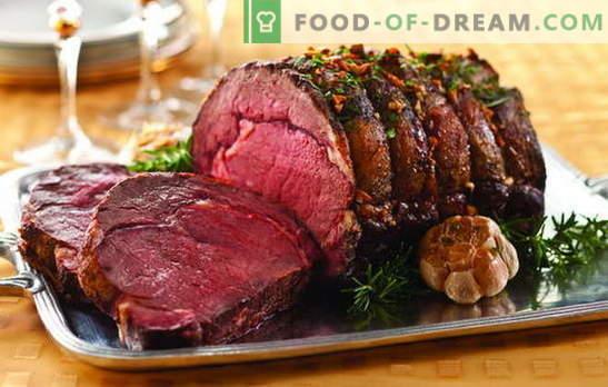 Вкусни месни ястия: гастрономна празнична маса. Безупречни идеи за топли ястия от месо за специални моменти от живота