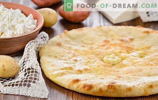 Картофено и сирене пай е лесно! Рецепти за пайове с картофи и сирене от бутер, маслено тесто, мая и желирано тесто