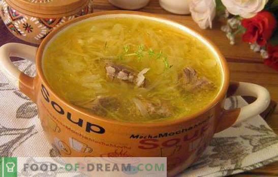 Супа от кисело зеле: пригответе най-вкусната супа! Рецепти, тайни и тънкости при приготвянето на кисело зеле кисело зеле