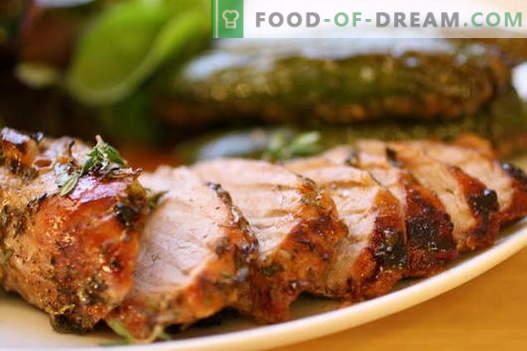 Пържено свинско в тигана - най-добрите рецепти. Как да правилно и вкусно готви печено свинско месо.
