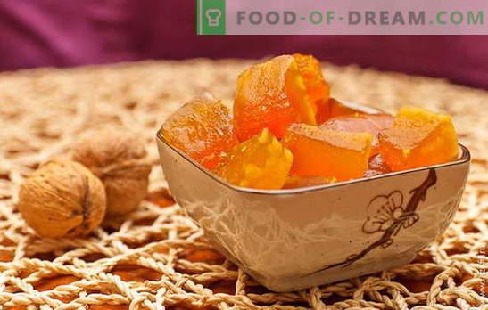 Захаросана тиква у дома - лекувайте гостите! Известни и оригинални рецепти на захаросани тикви в дома