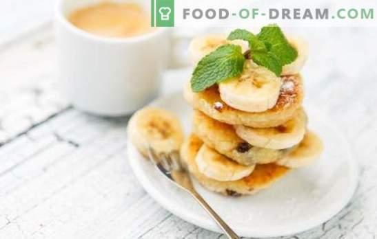 Варено-сирни сладкиши със стафиди - здравословна закуска. Имам ли нужда от брашно за приготвяне на кашкавал от стафиди?