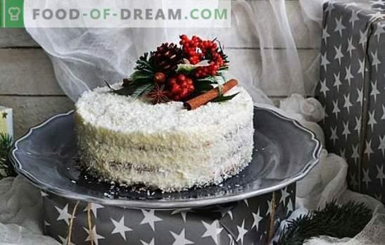 Кокосова торта - райска наслада! Различни рецепти на известни и нови торти с кокосови стърготини за сладки зъби