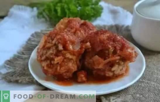 Кюфтета в доматен сос: рецепти стъпка по стъпка, тайни за готвене. Чудесна вечеря в бързаме - рецепти за кюфтета в доматено месо и пилешки сос