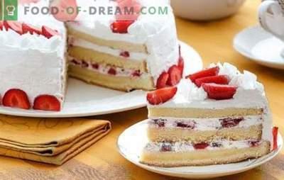 Крем за торта: най-добрите рецепти. Изберете рецепта за бисквитите и дайте на десерта си уникален вкус!