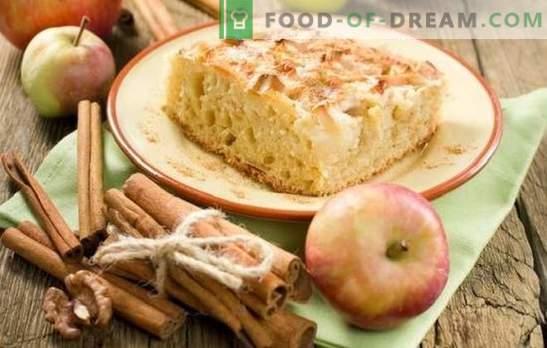 Шарлот с ябълки и канела е любима торта по нов начин. Как да си приготвяш шарло с ябълки и канела: нови идеи