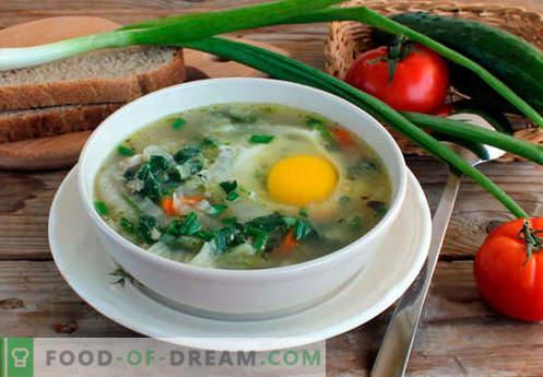 Супа от коприва - Доказани рецепти. Как правилно и вкусно приготвена супа от коприва.