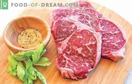 Мраморна телешка пържола - месен деликатес! Рецепти и всички начини за приготвяне на мраморни говежди пържоли във фурната, на печката и на скара