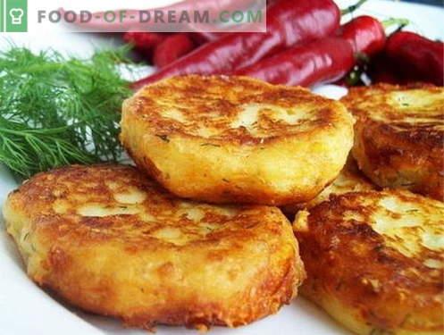Картофените банички са най-добрите рецепти. Как да готвя картофени банички.