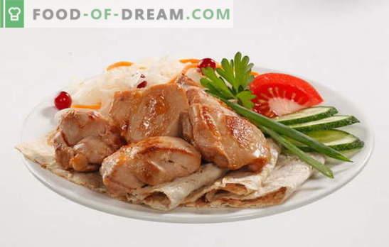 Пилешки бутчета в бавен котлон - обилен обяд без много усилия. Рецепти за пилешки бедра в бавен котлон с гъби, зеленчуци, сметанов сос и други