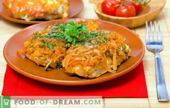 Маринованата риба е класическа рецепта, проста и достъпна. Полок, мерлуза и треска - класика на рибата под маринатата
