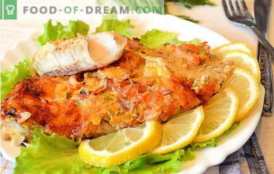 Как да приготвяте рибните филета във фурната е вкусно и лесно? Селекция от рецепти от рибно филе във фурната: с картофи, във фолио, оригинал
