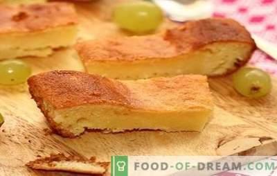 Torta con latte acido: tutto è geniale. Ricette a base di torta con latte acido nel forno e multi-cooker