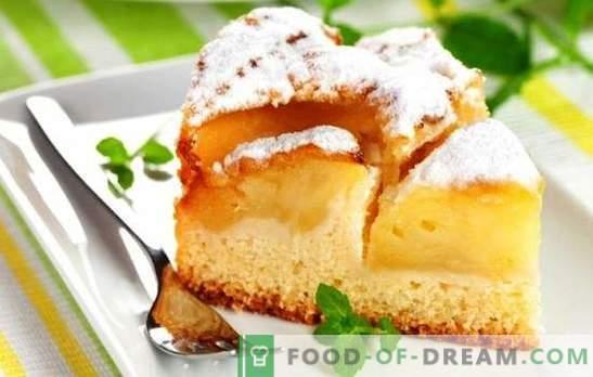 Charlotte en leche con manzanas - tierna! Recetas de charlotte sobre leche con manzanas y sabor cremoso
