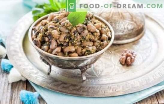 Бял боб лобио - класическа грузинска кухня. Рецепти за бели боб лобио с зеленчуци, гъби, пиле