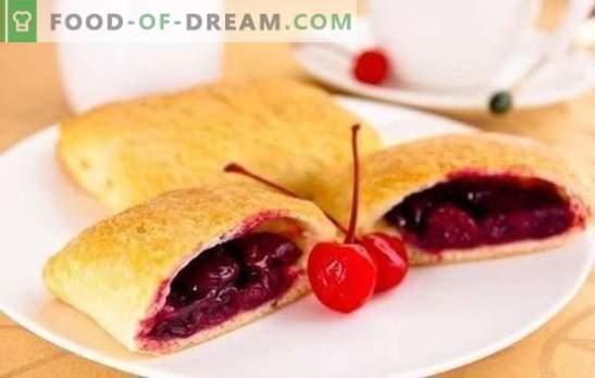 Cherry puffs - най-вкусните сладкиши с любимото ви зрънце! Изненадайте с уменията си: заемете се с изработката на череша