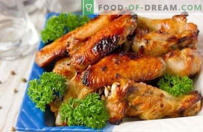 Marinaadid kana jaoks - parimad retseptid. Kuidas valmistada grillitud kana marinaadi ja ahju.