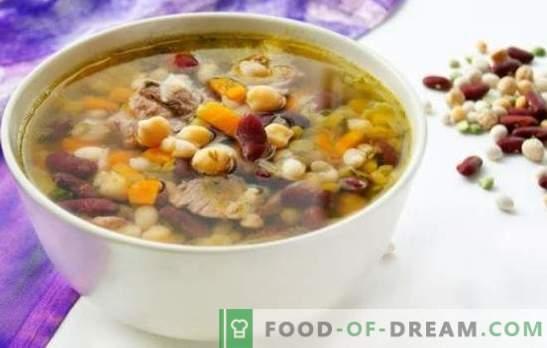 Най-вкусните фасунови супи - в зеленчукови и месни бульони. Украса за маса и детска любима храна - супа от фасул
