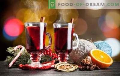 Mulled wine made from red wine - taste and warm romantic evening. Proper preparation of mulled wine from red wine
