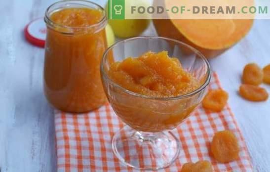 Тиквено сладко от сушени кайсии е оранжева приказка! Рецепти на различни тиквени сладко от сушени кайсии и лимони, портокали, ядки