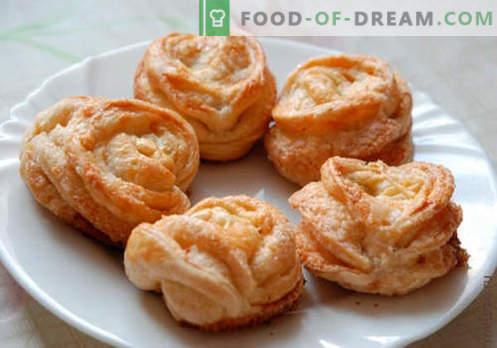 Petits pains au sucre - les meilleures recettes. Comment bien et savourer cuire des petits pains avec du sucre à la maison