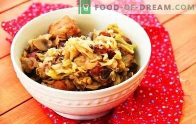 Bigus with potatoes - a new version of the traditional dish. Bigus recipes with potatoes and mushrooms, sausage, vegetarian