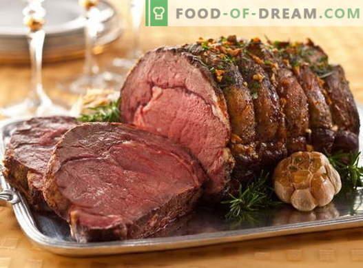 Carne în manșon - cele mai bune rețete. Gătiți în mod adecvat și delicios carne în manșon.