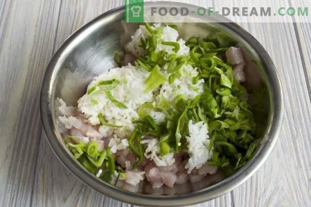 Кюфтета с ориз в доматен сос