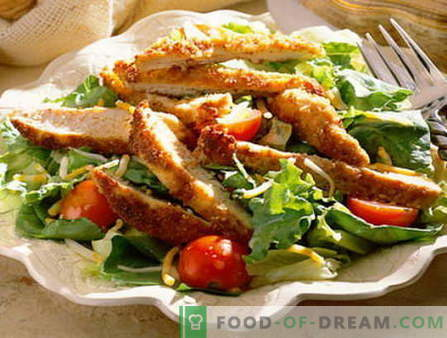Male salad - the best recipes. How to properly and tasty cooked Men's Salad.