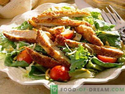 Vyrų salotos - geriausi receptai. Kaip tinkamai ir skaniai virti vyrų salotos.