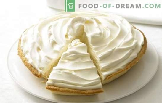 Crema de leche condensada y crema agria: ¡cualquier horneado será dulce! Una selección de recetas y postres con crema de leche condensada y crema agria
