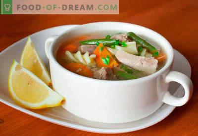 Турска супа - докажани рецепти. Како да правилно и вкусно готви чорба супа.