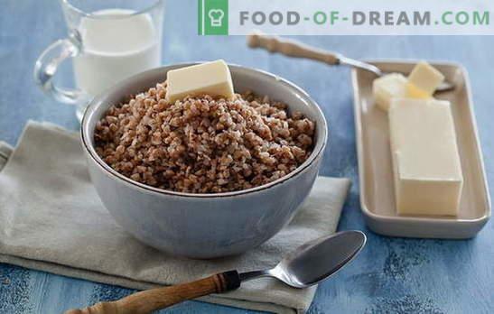 Елда каша с месо. Научете най-добрите рецепти за приготвяне на каша от елда с месо в тиган, фурна, мултикукър