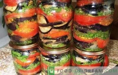 Патладжан с домати за зимата - запазете вкуса и ползата от лятото! Рецепти за предястия за стартерни патладжани и домати за зимата
