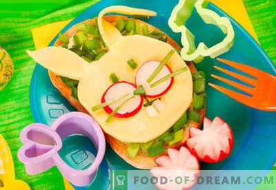 Детските сандвичи са най-добрите рецепти. Как бързо и вкусно да се готви детски сандвичи.