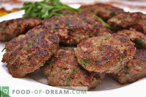 Котлетите от кайма са най-добрите рецепти. Как правилно и вкусно да приготвя кюфтета от мляно месо.