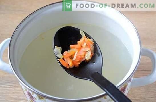 Супа със свинско кюфте: фото рецепта! Лека и подхранваща супа за цялото семейство за 45 минути