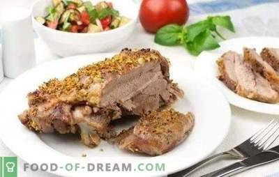 Putensteak im Ofen - ein gutes Stück! Rezepte von Putensteaks im Ofen in verschiedenen Marinaden, mit Gemüse, Saucen