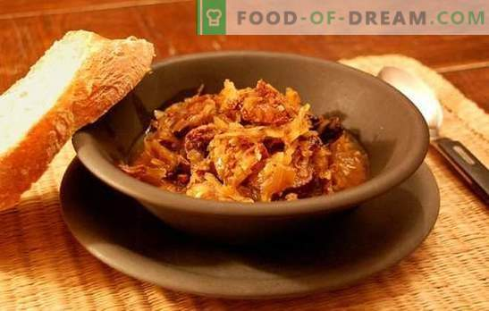 Bigus в бавното готвене - ястие на нацията! Рецепти на различни бигуси в бавен котлон: с зеле, картофи, месо, пиле