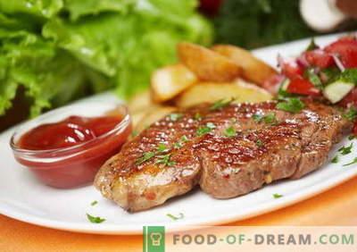 Stek wieprzowy - najlepsze przepisy. Jak prawidłowo i smacznie gotować stek wieprzowy.