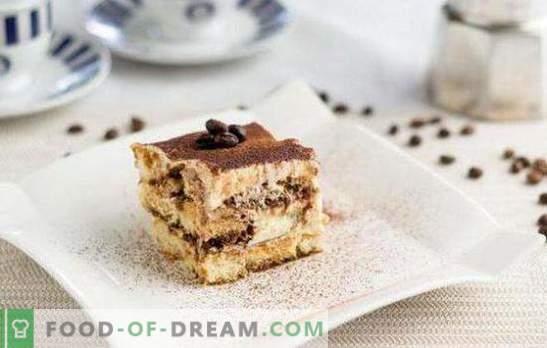Вкусни и прости десерти: пригответе бързи сладкиши у дома! Най-лесните рецепти за десерти, приготвени от бисквити, пръчици, плодове, сметана и натруфен