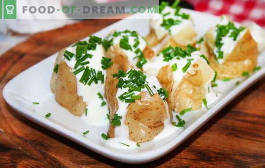 Картофено задушено в сметана - нежна и подхранваща гарнитура. Рецепти за задушаване на картофи в заквасена сметана: тиган, фурна и мултикукър