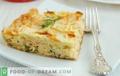 Le pain pita au four - les meilleures recettes: des idées pour les ménagères paresseuses. Comment faire cuire des tartes, des petits pains, des hors-d'œuvre chauds de pita au four